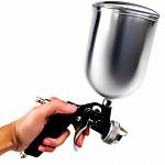 pistola pintura arprex gravidade modelo 12 caneca alumínio 4.0 10126000